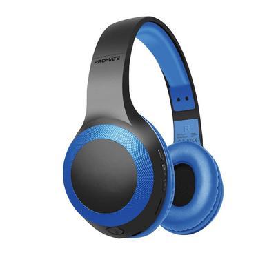 Promate, Laboca Over-Ear Headphones, Blue