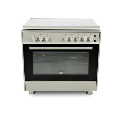 DE 90x60 Gas Cooker, Cast Iron, Full Iginition, Full Safety, Steel.