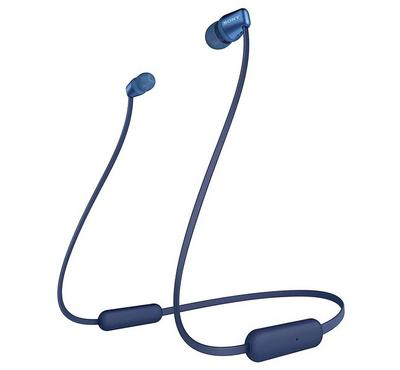 Sony In-Ear Wireless Sports Headphones, 15 Hrs of Playtime, Water Resistant, Blue