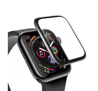 Jinya Glass Screen Protector, Compatible For Apple Watch 42mm, Black
