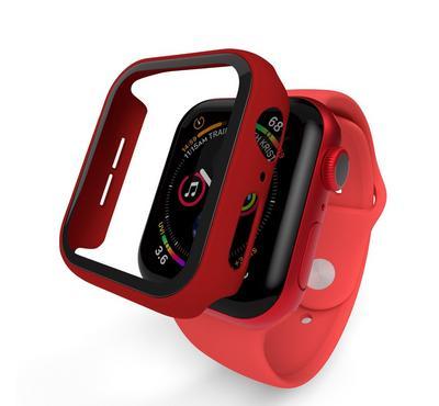 هايفين لشاشة ساعة ذكية أبل، 40 مم، أحمر