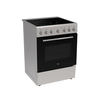 Midea 60x60CM Vitroceramic Cooking Range With Convection 6000W Stainless Steel