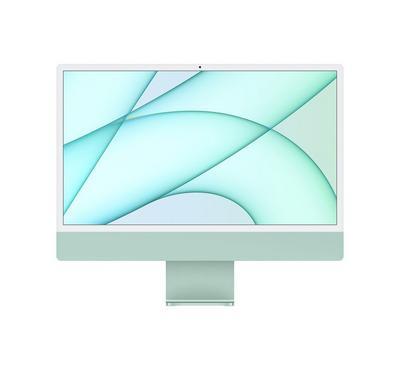 أبل، كمبيوتر مكتبي الكل في واحد، أبل أم1، شاشة 24 بوصة، 8 جيجا ، 256 جيجا، أخضر