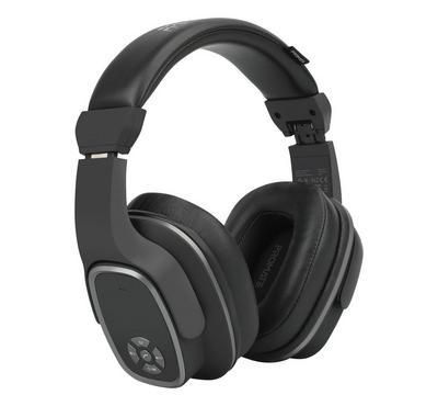 بروميت سماعة رأس بلوتوث ، 6 واط ، 12 ساعة تشغيل ، أسود