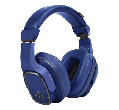 بروميت سماعة رأس بلوتوث ، 6 واط ، 12 ساعة تشغيل ، أزرق
