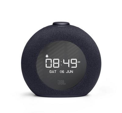 JBL Horizon 2 Bluetooth Clock Speaker, Built-In Radio, 8W, LCD Display, Black