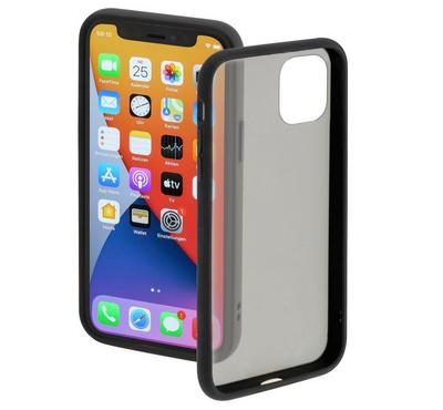 Hama Clear Cover for iPhone 12 Mini, Black