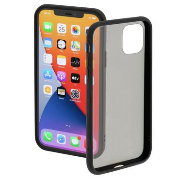 Hama Clear Cover for iPhone 12 & iPhone 12 Pro, Black