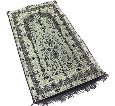 Sundus, Prayer Mat, Memory Foam, Black