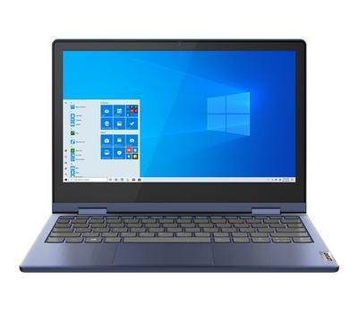 Lenovo IdeaPad Flex 3, Intel Pentium Silver N5030, 11.6 Inch, 4GB, 128GB, Blue
