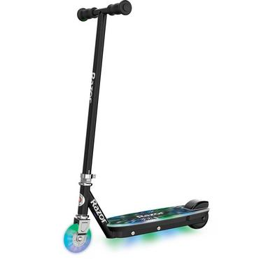 Razor, Electric Tekno lightup Scooter With Multicolour LED,  Black