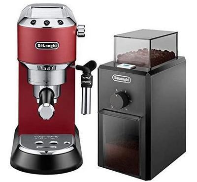 ديلونجي، ماكينة قهوة، 1.1 لتر، ضغط 15 بار، أحمر