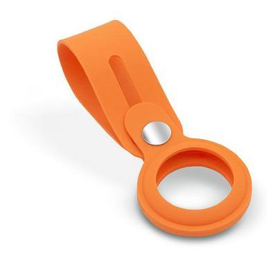 HYPHEN AirTag Loop Strap Silicone Case, Orange