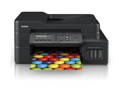 Brother, All in One InkTank color Printer, Print, Copy, Scan, Wireless, Black
