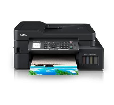 Brother, All in One InkTank color Printer, Print, Copy, Scan, Fax, Wireless, Black