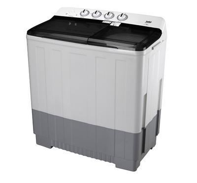 Beko 9.5 kg Washer, Twin Tub Semi Automatic Washing Machine, White.