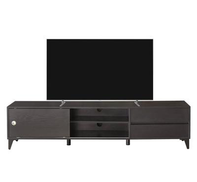 هومز، طاولة تليفزيون، 180 سم طول، 39.8 سم عمق، 42.6 سم ارتفاع، أسود