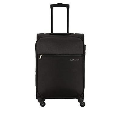 Kamiliant 56cm Luggage Bag, Polyester, Black