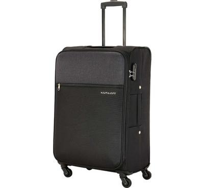 Kamiliant 67cm Luggage Bag, Polyester, Black