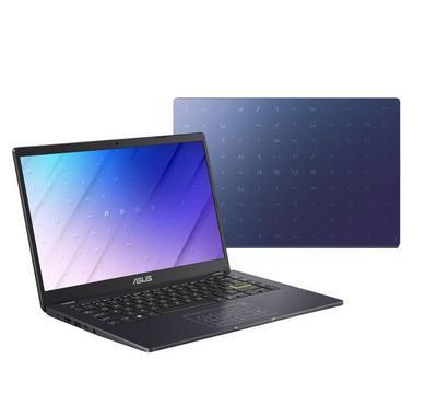 Asus E410MA Clamshell Laptop, Intel Celeron, 14 Inch, 4GB, 256GB, Blue