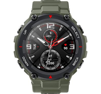 Amazfit T-REX, Sport Military Grade Smartwatch With Heart Rate Monitor, Army Green