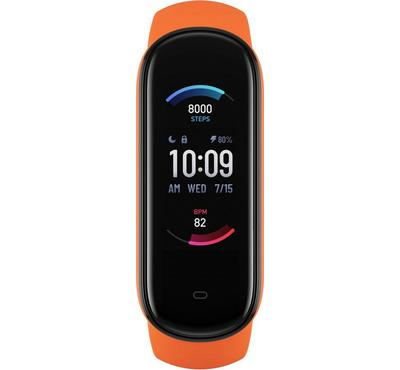 Amazfit BAND 5 A2005 47mm Smart Fitness Tracker With Heart Rate,Orange