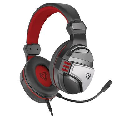 Vertux, Malaga Gaming Headset, Stereo, Red