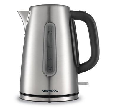 Kenwood 3000 Watts 1.7 Ltr Metal Kettle, Silver.