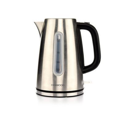 Kenwood 2200 Watts 1.7 Ltr Metal Kettle, Silver.
