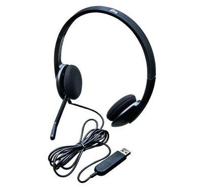 Logitech H570E, Headset, Black