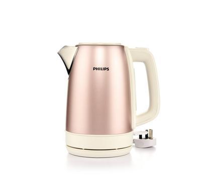 فيليبس غلاية ماء، 2200 واط،1.7 لتر، ذهبي وردي و أبيض