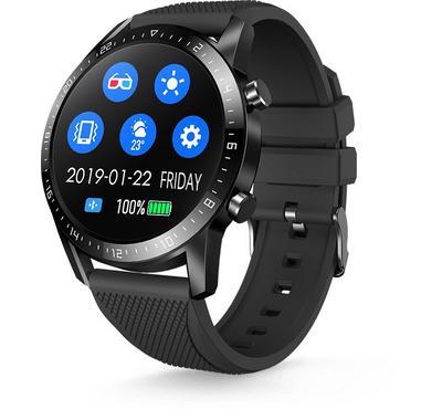 Riversong SW10 Motive 2c Smart Watch, 1.28 Inch, Waterproof, Black