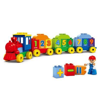 بريكس، قطار تعليمي، تركيب، 45 قطعة