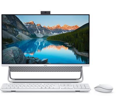 ديل أيو كمبيوتر مكتبي ، كور أي 3، 23.8 بوصة، 1 تيرا، فضي