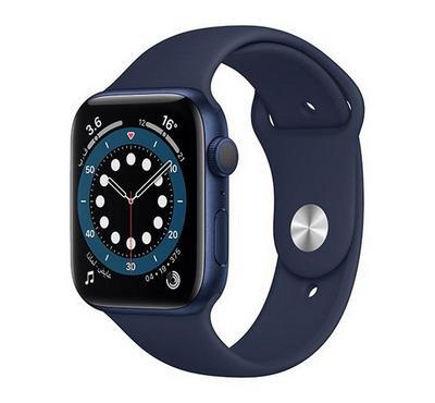 Apple Watch SERIES 6 GPS 40mm,Blue Aluminum Case With Deep Navy Sport Band