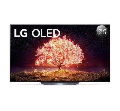 LG 55 Inch OLED 4K Smart TV, Black.