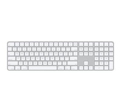 أبل لوحة مفاتيح مع مستعر بصمة ولوحة أرقام، عربي انكليزي