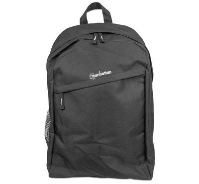 Manhattan KNAPPACK 15.6-Inch Laptop Backpack Bag 600D PVC Black