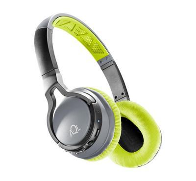 Cellularline Bluetooth Headphones, Volume Control,Lime