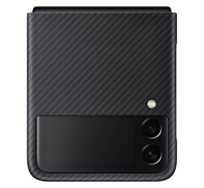 Samsung Galaxy Flip 3 Aramid Cover Black