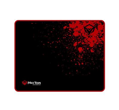 Meetion P110 Square Gaming Mouse Pad Non-Slip Rubber Red/Black