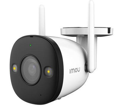 إيمو، كاميرة مراقبة منزلية ذكية، واي فاي، 4 ميجابيكسل، رؤية ليلية، أبيض