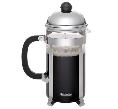 Prestige French Tea&Coffee Flask, Up to12 Cups, Stainless Steel