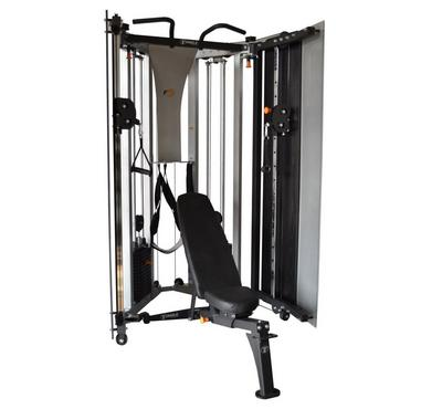 Torque Fitness F9 Fold-Away Strength Functional Trainerو Silver/Black