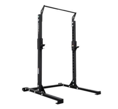 Torque Fitness 209cm Short Squat Rack With Pull-Up Bar 306KG Max Black
