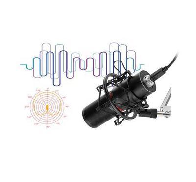 Redragon, Gaming Stream Microphone, Black