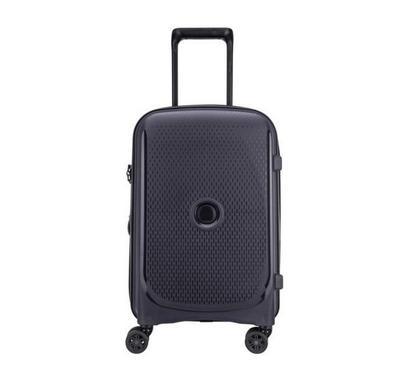 Delsey Luggage Bag, 4 Wheels, Trolley Cab, Black