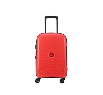 Delsey Luggage Bag, 4 Wheels, Trolley Cab, Red