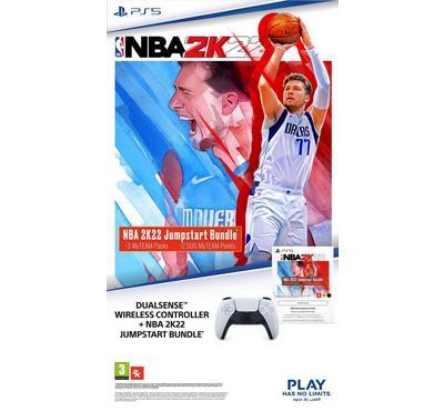 Sony PS5 Dual Sense Wireless Controller+Jum Start Bundle Game.