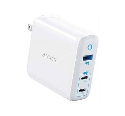 Anker, Powerport Adapter, 65 Watts, White